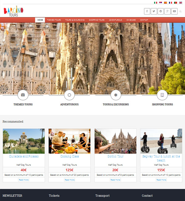 Barcino travel
